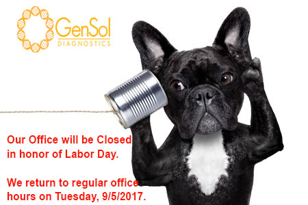 GenSol's Office will be Closed for Labor Day