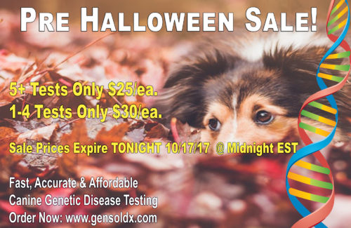 GenSol's Pre Halloween Sale Ends Tonight at Midnight EST!
