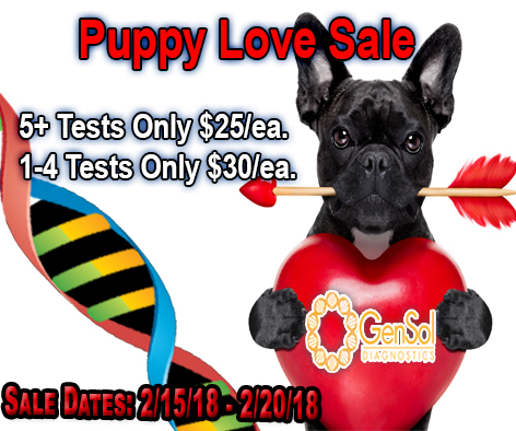 GenSol's Puppy Love Sale