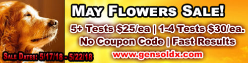 May Flowers Sale – Time Running Out!