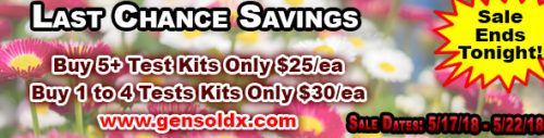 May Flowers Sale Ends Tonight! Midnight EST