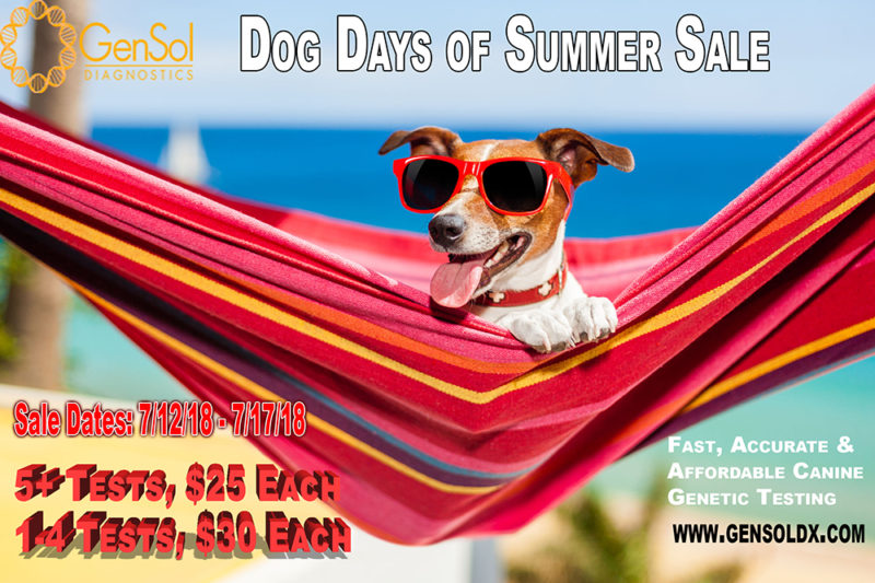 Dog Days of Summer Sale Continues!