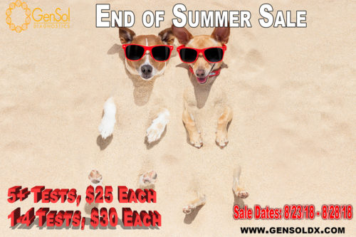 GenSol's End of Summer Sale!