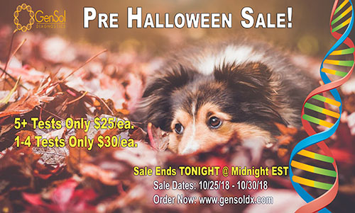 Pre Halloween Sale Ends Tonight at Midnight!