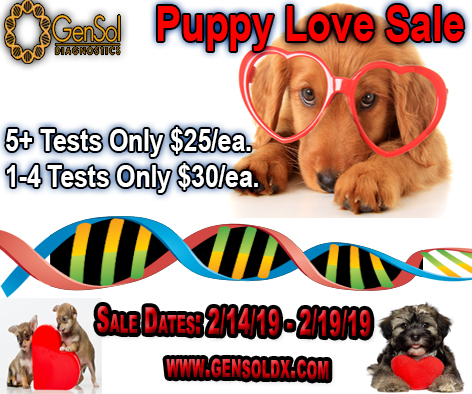 Puppy Love Sale Today!