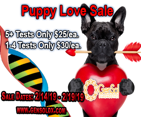Puppy Love Sale Ends Soon!