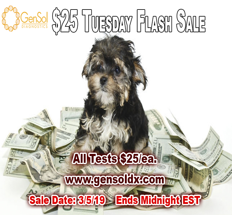 GenSol's $25 Tuesday Flash Sale TODAY ONLY!